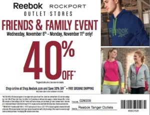 reebok friends and family